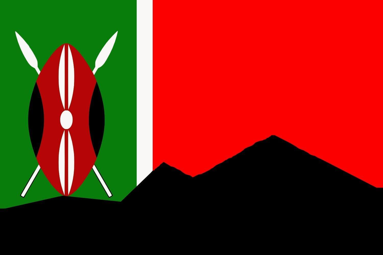 Drapeau//Drapeau Kenya Hissflagge 90 x 150 CM