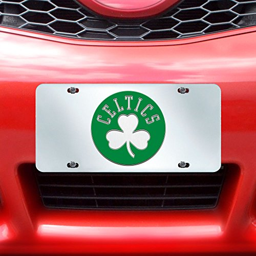 Fanmats NBA Boston Celtics License Plate-Inlaid 6x12 by Fanmats