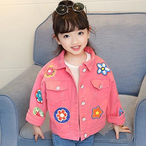 LJYH Baby Girl//Girls Washed Denim Jacket Fashion Spring Coat