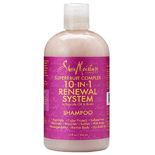 SheaMoisture SuperFruit Complex 10-in-1 Renewal System Shampoo, 13 Ounce