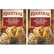 Krusteaz Supreme Muffin Mix Cranberry Orange 18.6 oz ( 2 PACK)