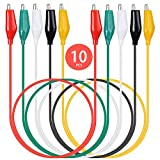 KAIWEETS 10PCS Electrical Alligator Clips with