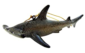 Westman Works Hammerhead Shark Christmas Ornament Realistic Tree Decoration, 5 Inches Long