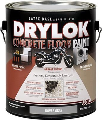 UGL UNITED GILSONITE LAB 21413 Drylok GAL Dove Grey Paint