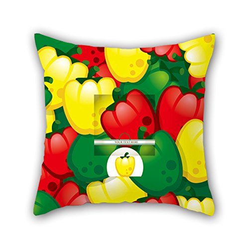 PILLO Throw Pillow Covers Of Flower,for Family,deck Chair,girls,wedding,floor,bedroom 18 X 18 Inches / 45 By 45 Cm(twice Sides)