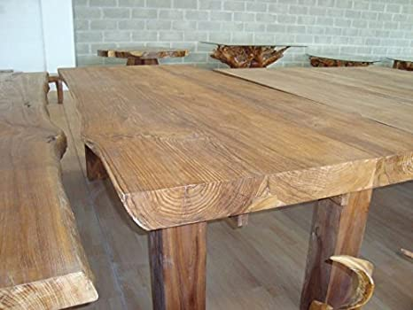 Biggi moda mare dining table in indonesian teak wood 250 x 110