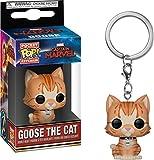 Funko Pop! Keychain Marvel - Captain Marvel - Goose The Cat