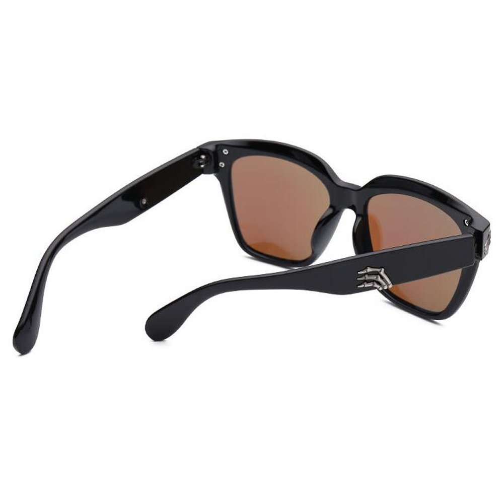Zhuhaixmy Mode Skeleton-Hand Pattern Rahmen Sonnenbrille UV400 Anti-Glare Brille Driving Brille Brille yvIhgN40