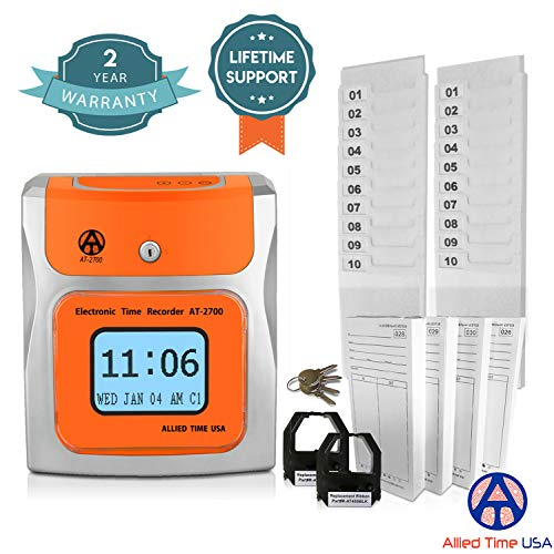 Small Business Time Clock AT-2700 Bundle