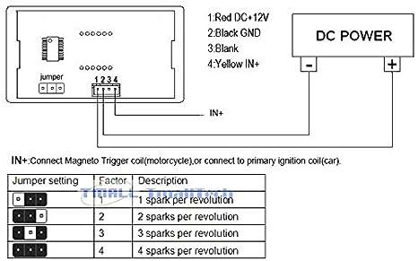 519JjJ3luML._SX466_ amazon com digiten tmallteh car motorcycle 4 digital motor