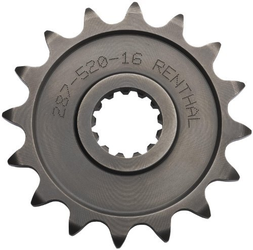 (Renthal Steel Front Sprocket - 11T, Sprocket Teeth: 11, Color: Natural, Material: Steel, Sprocket Size: 415, Sprocket Position: Front 481-415-11P by Renthal)