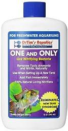 DrTim\'s Aquatics One & Only Live Nitrifying Bacteria for Cycling Aquaria, Fresh Water, 8-Ounce