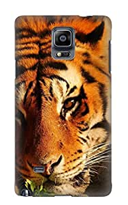 Galaxy Note 4 Case, Premium Protective Case With Awesome Look - Animal Tiger(gift For Christmas)