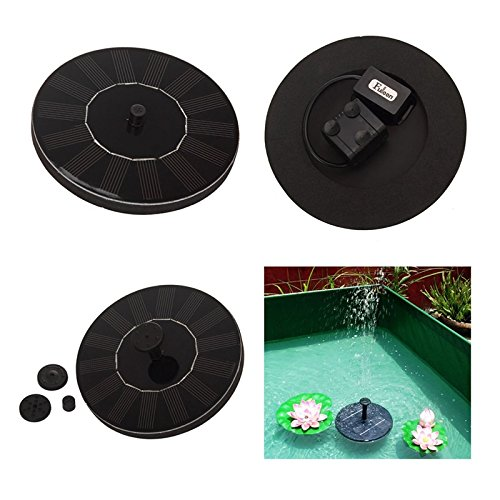LIEYANG Solar Panel Powered Water Floating Pump Fountain Garden Pool Watering Kit by Lieyang (Image #3)