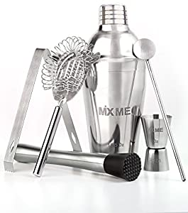 6 piece drink mixer set includes 18 5 ounce for The perfect drink mixer