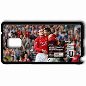 Personalized Samsung Note 4 Cell phone Case/Cover Skin 6 Manchester United Football Black