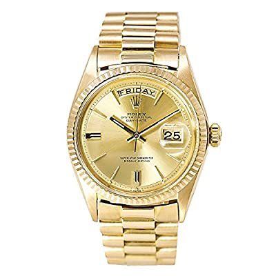 Rolex Day-Date automatic-self-wind male Watch 1803 (Certified Pre-owned) by Rolex