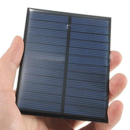 Active Components Mini 6v 1w Solar Panel Bank Solar Power Panel Module Diy Power For Light Battery Cell Phone Toy Chargers Portable