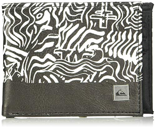 (Quiksilver Men's Freshness Wallet, Black, M)