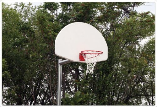 Adjustable Backstop Construction: Fiberglass Fan by SportsPlay