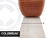 "COLDBREAK Copper Mesh, 30' x 5"", Pure"