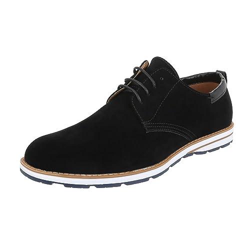 Damen Schnürer Schuhe Oxford Beige Halbschuhe Ital design