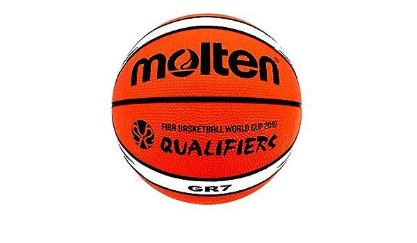 MOLTEN Balon de Baloncesto Fiba BGR7 World Cup Premium Nylon Talla ...