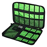 VVHOOY Travel Electronics Cable Organizer Bag for USB,Hard Drives, Cables, Charger Storage Case