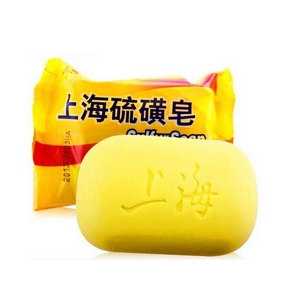 Sapone di zolfo–aiuta a migliorare le condizioni di pelle acne psoriasi Seborrhea eczema e altre imperfezioni della pelle problemi UxradG
