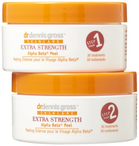 Dr. Dennis Gross Skincare Extra Fort Alpha Beta Peel, 30-Count