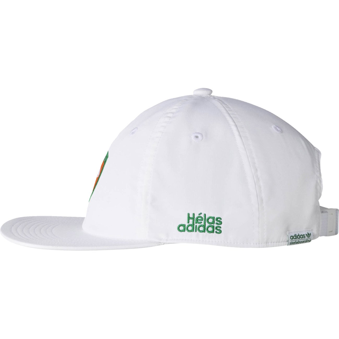 b5ff0e3f610 adidas Originals Mens Helas 6 Panel Cap in White - OSFM  adidas   Amazon.co.uk  Clothing