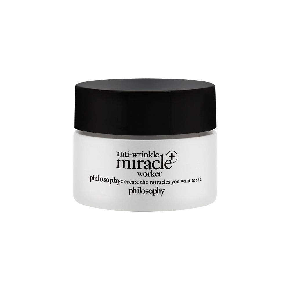 Philosophy Anti-Wrinkle Miracle Worker Line Correcting Moisturizer Travel, 0.5 Ounce