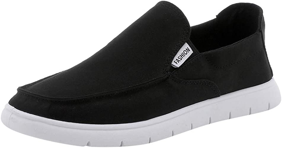 Loafers Casual Shoes for Women Fashion Sneakers Flats Retro Slip-on Canvas Shoes