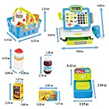FUN LITTLE TOYS Cash Register for Kids with