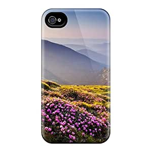 New Arrival Iphone 4/4s Case The Flowers L Case Cover