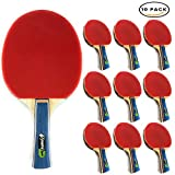 MightySpin's Evolution Ping Pong Paddle| Professional Blade For Power & Speed Materials, Control & Spin| Enjoy A True Pro Table Tennis Racket(HandShake)