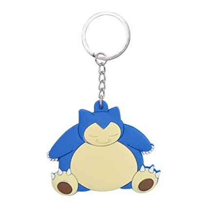 Lychee llavero Pokemon Pocket Monster Snorlax kabigon ...
