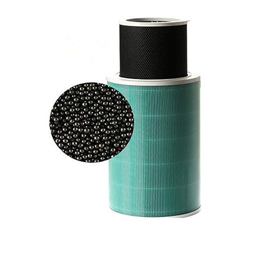 XuBa Filtro purificador de Aire Partes Formaldeh/ído Eliminado Versi/ón Hepa para Xiaomi Mi purificador de Aire Filtro de Limpieza de Aire