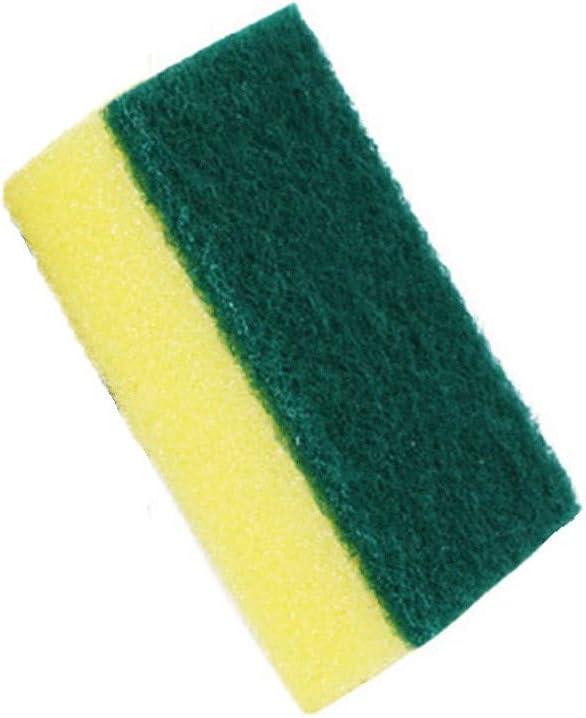 10pcs Multipurpose Sponge Dish Washing Scrubber Kitchen Scouring Cleaning Pad