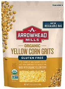 Amazon.com: Arrowhead Mills Organic Yellow Corn Grits - 24
