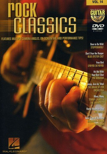 Rock Classics - Guitar Play-Along Dvd Volume 14
