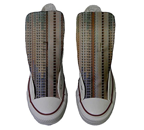 Hi Chaussures All Converse Coutume artisanalPersonnalis� Adulte Density Architecture Mixte of Star Produit qOtwE