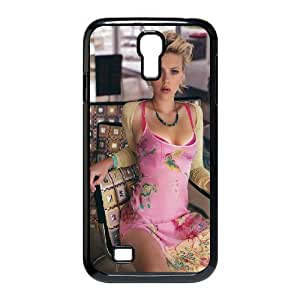 Scarlett Johansson HILDA0074053 Phone Back Case Customized Art Print Design Hard Shell Protection SamSung Galaxy S4 I9500