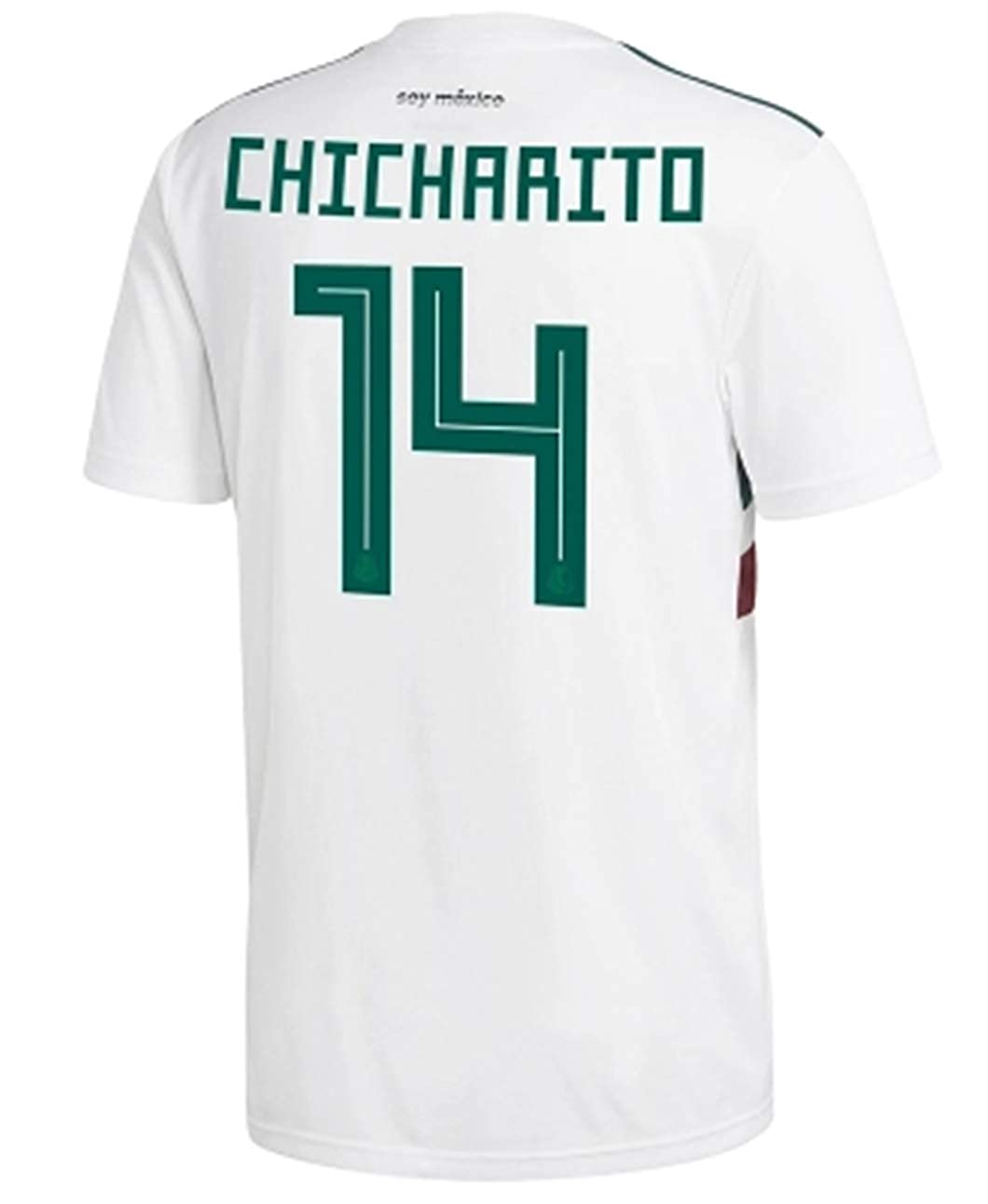 hot sales ffb11 87cc7 LISIMKE Soccer Mexico National Team #14 Chicharito 2018 ...