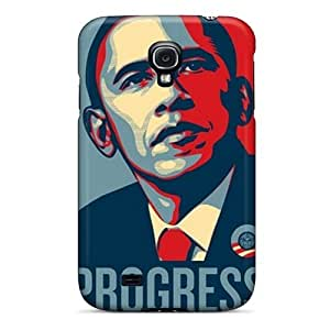 Anti-scratch And Shatterproof Barack Obama Phone Case For Galaxy S4/ High Quality Tpu Case
