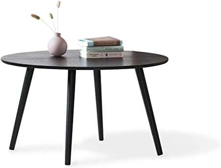 Lifa Living Table Basse Salon Noir Table Basse Bois Design