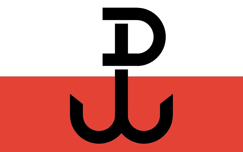 Amazon magflags large flag armia krajowa the symbol on the amazon magflags large flag armia krajowa the symbol on the flag called kotwica is a combination of letters p and w polska walczca landscape flag biocorpaavc Choice Image