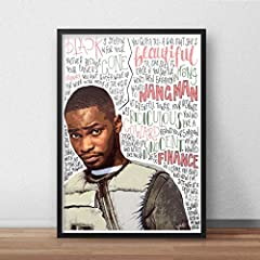 Santan Dave inspired poster / print - PRODUCT SPECIFICATIONS - All A5, A4 and A3 posters are printed on 250gsm smooth high quality paper. All A2 and A1 posters are printed on 190gsm silk paper. ***Frames NOT included.*** PACKAGING DETAILS - P...
