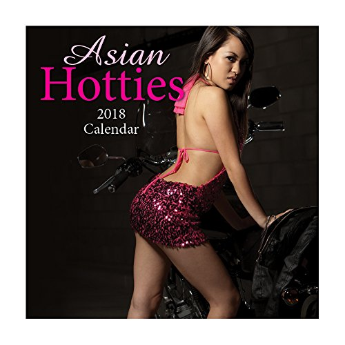 2018 Asian Hotties Calendar - 12 x 12 Wall Calendar - With 210 Calendar Stickers (Asian Girls Calendar)