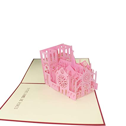 DFHJSXDFRGHXFGH-ES Tarjeta de felicitación 3D Tarjeta Postal ...